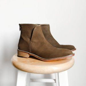 NEW Free People Leather Century Flat Boots